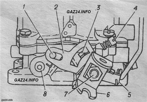 voimg vu6bfc2 - Таблица жиклеров карбюратора к 126